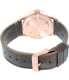 Nixon Men's Sentry A3772001 Rose Gold Leather Quartz Watch - Back Image Swatch