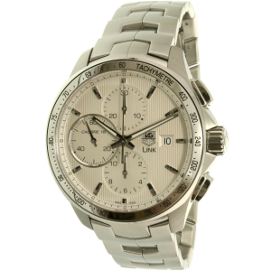 Tag Heuer Men's Calibre CAT2011.BA0952 Silver Stainless-Steel Swiss Automatic Watch