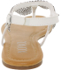 Xoxo Women's Tadi Ankle-High Synthetic Sandal - Back Image Swatch