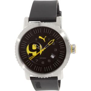 Puma Men's PU103851001 Black Rubber Quartz Watch