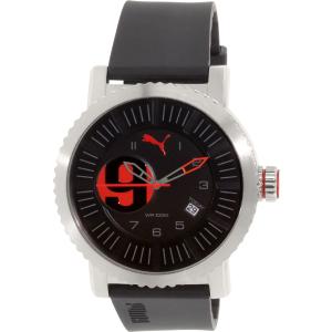 Puma Men's PU103851003 Black Rubber Quartz Watch