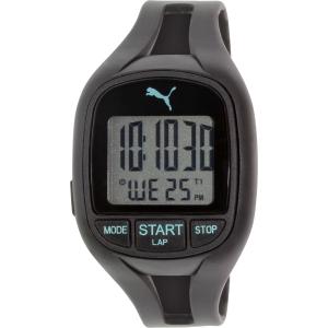 Puma Men's PU911141001 Black Rubber Quartz Watch