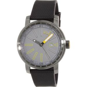 Puma Men's PU103961004 Black Rubber Quartz Watch