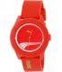 Puma Men's PU103971001 Red Rubber Quartz Watch - Main Image Swatch