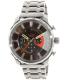 Diesel Men's Stronghold DZ4348 Gunmetal Stainless-Steel Quartz Watch - Main Image Swatch