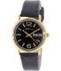 Marc by Marc Jacobs Men's Fergus MBM8651 Black Leather Quartz Watch - Main Image Swatch