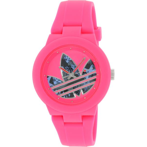 adidas s aberdeen adh3017 pink silicone quartz