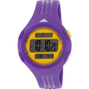 Adidas Women's Questra ADP3148 Purple Rubber Quartz Watch