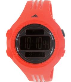 Adidas Men's Questra ADP6084 Red Rubber Quartz Watch