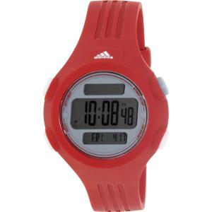 Adidas Women's Questra ADP3145 Red Polyurethane Quartz Watch
