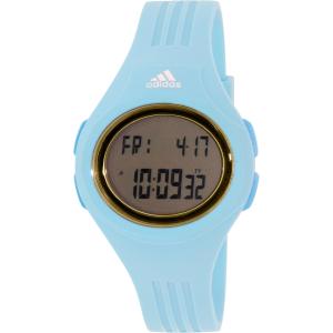 Adidas Women's Uraha ADP3163 Light Blue Rubber Quartz Watch