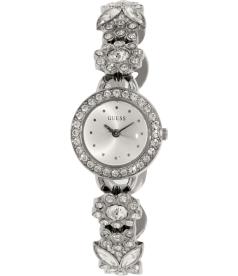 Guess Women's U0527L1 Silver Stainless-Steel Quartz Watch