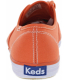 Keds Women's Champion Oxford Ankle-High Canvas Flat Shoe - Back Image Swatch