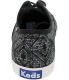 Keds Women's Champion Tribal Ankle-High Canvas Flat Shoe - Back Image Swatch