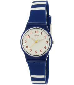 Swatch Women's Originals LN149 Blue Silicone Swiss Quartz Watch