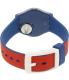 Swatch Women's Originals LN149 Blue Silicone Swiss Quartz Watch - Back Image Swatch