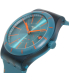 Swatch Men's Sistem51 SUTG400 Teal Silicone Swiss Automatic Watch - Side Image Swatch