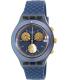 Swatch Men's Irony SVCN4006 Blue Rubber Swiss Quartz Watch - Main Image Swatch