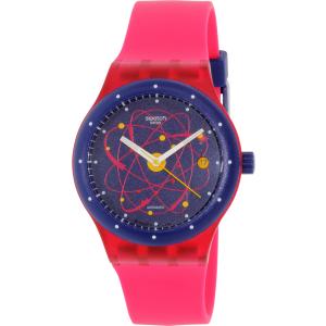 Swatch Women's Sistem51 SUTR401 Pink Silicone Swiss Automatic Watch