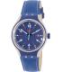 Swatch Men's Irony YES4000 Blue Leather Swiss Quartz Watch - Main Image Swatch