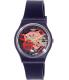 Swatch Women's Originals GN239 Navy Rubber Swiss Quartz Watch - Main Image Swatch