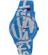 Swatch Women's Originals SUOS103 Aqua Rubber Swiss Quartz Watch - Main Image Swatch