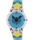 Swatch Women's Originals SUOZ191 Blue Rubber Swiss Quartz Watch - Main Image Swatch