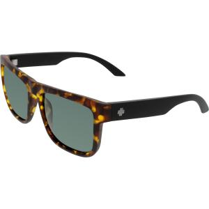 Spy Men's Discord 673119623863 Tortoiseshell Square Sunglasses