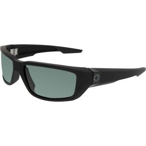 Spy Men's Dirty Mo 670937219863 Black Wrap Sunglasses