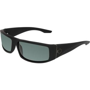 Spy Men's Cooper 670195973863 Black Rectangle Sunglasses
