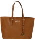 Michael Kors Women's Jet Set Travel Medium Leather Top-Handle Tote - Main Image Swatch