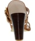 Kenneth Cole Women's Salem Low Top Leather Sandal - Back Image Swatch
