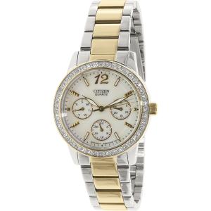 Citizen Women's ED8094-52N Silver Stainless-Steel Quartz Watch