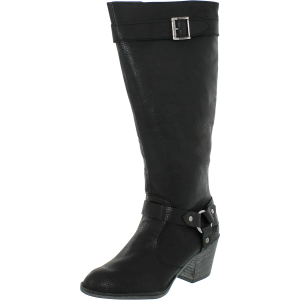 Rocket Dog Women's Sebastian Harvey Mid-Calf Leather Boot
