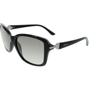 Vogue Women's  VO2832SB-W44/11-57 Black Cat Eye Sunglasses