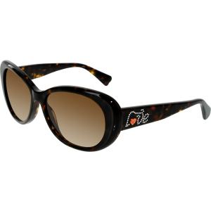 Vogue Women's Gradient  VO2868SB-W65613-56 Brown Butterfly Sunglasses