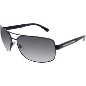 Giorgio Armani Men's  AR6011-304881-65 Black Square Sunglasses
