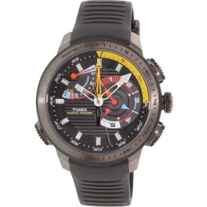 Timex Men's Intelligent Quartz TW2P44300 Black Rubber Analog Quartz Watch