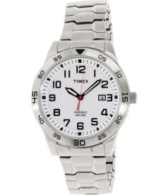 Timex Men's Fieldstone TW2P61400 Silver Stainless-Steel Analog Quartz Watch