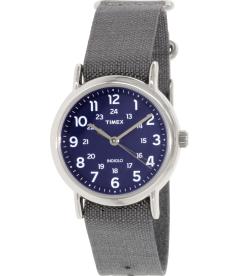 Timex Men's Weekender TW2P65700 Grey Cloth Quartz Watch