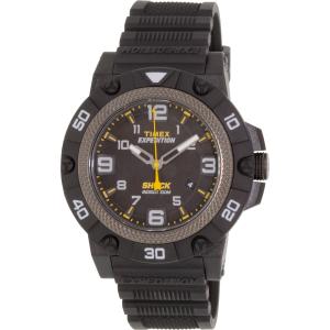 Timex Men's Expedition TW4B01000 Black Rubber Analog Quartz Watch