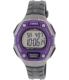Timex Women's Ironman TW5K89500 Grey Rubber Quartz Watch - Main Image Swatch