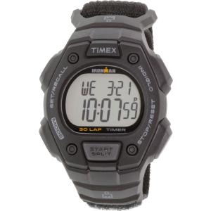 Timex Men's Ironman TW5K90800 Black Cloth Quartz Watch