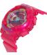 Casio Women's Baby-G BA112-4A Pink Resin Quartz Watch - Side Image Swatch