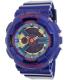 Casio Women's Baby-G BA112-2A Purple Plastic Quartz Watch - Main Image Swatch
