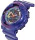Casio Women's Baby-G BA112-2A Purple Plastic Quartz Watch - Side Image Swatch