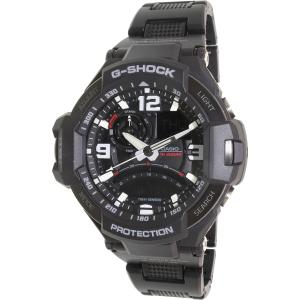 Casio Men's G-Shock GA1000FC-1A Black Resin Quartz Watch