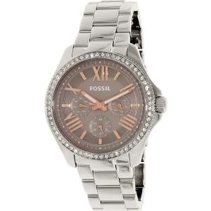 Fossil Women's AM4628 Silver Stainless-Steel Quartz Watch
