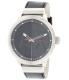 Armani Exchange Men's AX1361 Black Leather Quartz Watch - Main Image Swatch