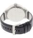 Armani Exchange Men's AX1361 Black Leather Quartz Watch - Back Image Swatch